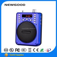 At Low Price Portable Bluetooth Speaker With Fm Radio