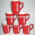 nestle fábrica auditada para producir nestle rojo taza de café de la taza para la promoción