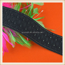Black jacquard elastic band for underwear dress and bags decoration for wholesale