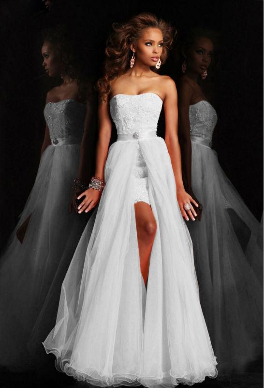 moins cher robe de mariée en dentelle avec le train amovible-Robes de ...