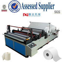 Bathroom paper roll equipment/Automatic rewinding embossing household tissue toilet machine