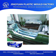 Taizhou factory superior used plastic injection auto bumper mould for sale