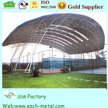 Steel Structure Awning For Sports Hall Football Field