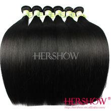 Alibaba hot sale remy hair wholesale, raw virgin straight brazilian hair extension