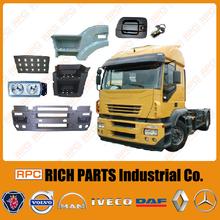 Truck Bumper, Mirror, Lamp, Fender Made in Taiwan Eurocargo/ Stralis/ Eurostar/ Eurotech European Iveco Truck Spare Parts