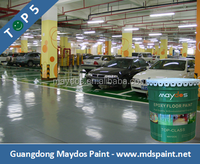 Maydos High Performance Hard Wearing Epoxy Resin Floor Paint for Car Parking Lot(China Top 5 Floor Paint Factory)