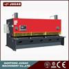 hydraulic shearing plate sheet machine guillotine type motivated metal cutting