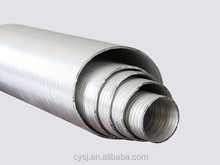 8 inch Semi-rigid Flexible Aluminum corrugated Tube