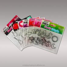 Clear Printed OPP Bag for Cookie/ Snack/ Candy/ Bread Packaging