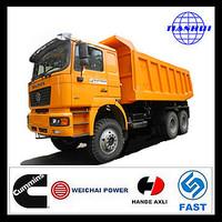 Hot sale shacman 6x4 brand new man diesel tipper trucks