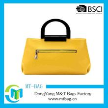 Yellow Style New Products Practical Canvas Tote Shopping Bag
