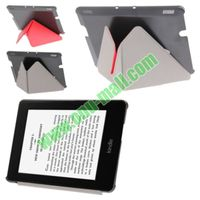 Smart Cover Triangle Folding Leather Case for Amazon Kindle Fire HDX 7