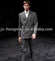 Dark Grey Wool Twill Fabric for Suit