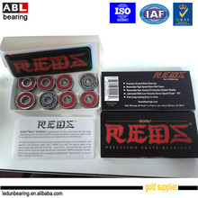 Longboard skateboard bearings 608 Red Bones 608RS with Low Price and High Precision ABEC