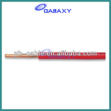 Excellent Overseas Market Price Single Core PVC Insulated Cable BV 2.5mm2 Wire 300/500V 450/750V