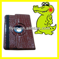 """Tablet accessories 360 Rotating for iPad mini Leather Case 7.9"""" inch Tab Smart Cover Crozzling Pattern"""