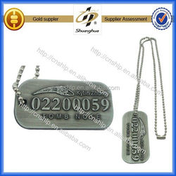 Free design custom high quality 2d dog tag making machine