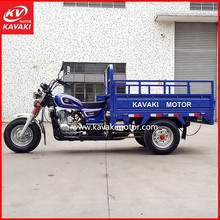 Blue Color Automative Handicapped Tricycle Engine Air-cooled 150cc 200cc For Selection