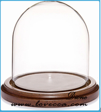 gift wholesale clear glass dome decoration