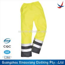 poche cargo pantalon de travail avec bande réfléchissante