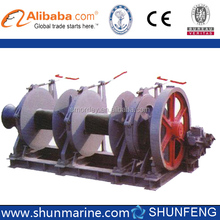 hydraulic double drum winch for Marine