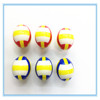 Promotional gifts blue white soft squeeze volleyball stress ball