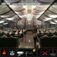 Wedding Tent Decor Luxury Lining Lighting Floor System