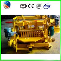 QMJ4-30 hydraulic adobe manual hollow block making machine for sale