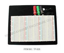 1100 Points Solderless Breadboard ABS Board Combination