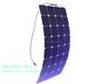 amorphous silicon thin film flexible solar panel thin film flexible roofing solar panel