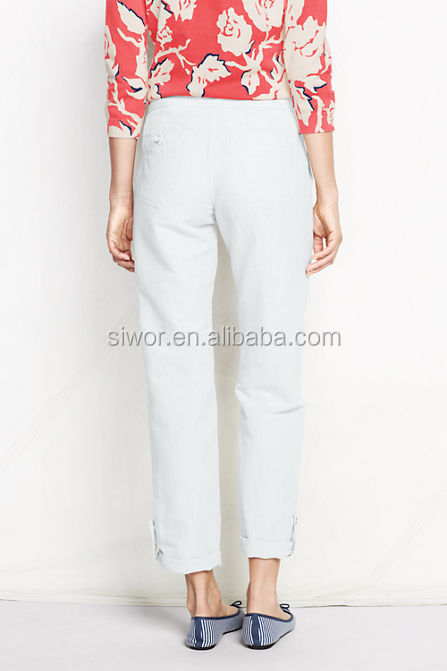 Excellent Womens Pants Sewing Pattern Available For Download Available In Various Sizes And Is Produced By BurdaStyle Magazine These Casual Cut Pants Feature Elastic Cuffs At The Waist And At The Seams, You Can Wear Them Out Or Do