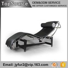 Euro Furniture Bedroom Bent Tubular Metal Frame Luxury Recliner Sofa