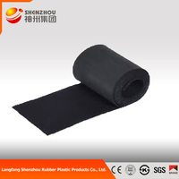 fireproof adhesive backed foam rubber 20mm thickness high density Acoustic Insulation Rubber Price