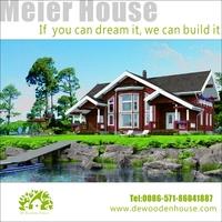 Easy-assembled prefabricated houses era wooden log house
