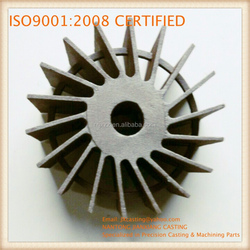 Impellers Vacuum pump investment casting stainless steel impellers
