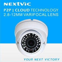 1.0/ 1.3/ 2.0MP IP Varifocal Dome Camera/ P2P/ Cloud/ Plug & Play/ Security/ CCTV/ ONVIF/ Plastic
