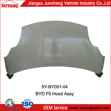 AUTO METAL CAR body parts for BYD F0 HOOD