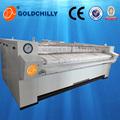 Lavanderia Industrial máquina de engomar ferro rolo & folha