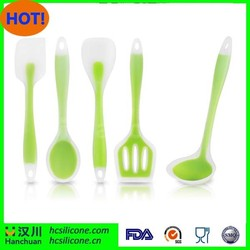 5-Piece Non-Stick Silicone for Superior Durability Heat-Resistant Cooking Utensil Set