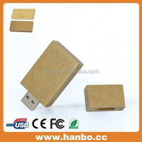 promotion low price printable wooden usb flash disk