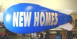 funny giant inflatable digital advertising blimp / toy blimp