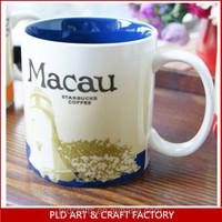Ceramic Macau Starbucks City Mugs Wholesales