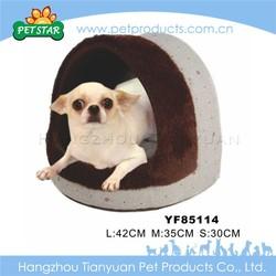 New soft plush cheap handmade dog house
