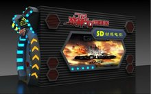 2015 Hot sell sealy simulator hydraulic system 4D,5D,6D theater movie machine