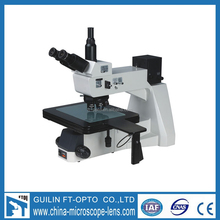 Upright metallurgical trinocular industrial microscope for electronics FD12405