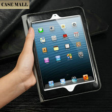 2015 fashion design dynamic folding stand leather case for ipad mini