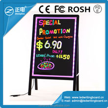 high brightness led sign board, coffee shops notification use, or special offer notice