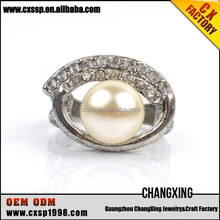 2015 The famous famous fashion latest pearl couple rings for valentine's day