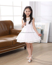 2015 baby cotton frocks designs lace formal dresses white black orange