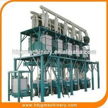 20-100tpd nuevo producto de harina de maíz de la máquina de fresado con buena calidad